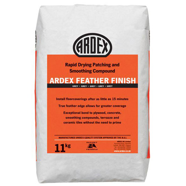 Ardex Feather Finish - Rapid Patching and Smoothing Compound - 11kg