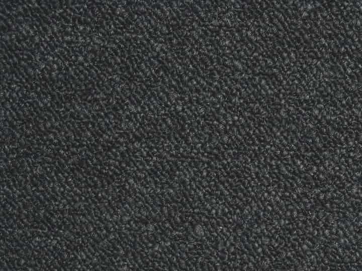 Heuga 530 Carpet Tiles - Recycled B Grade -  Black 6353 - 50cm x 50cm