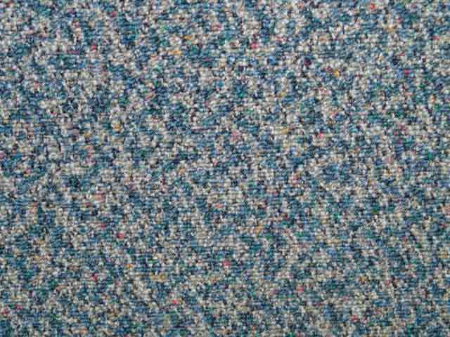 "Multi Fleck Carpet Tiles - Recycled A Grade - Blue - 18"" x 18"""