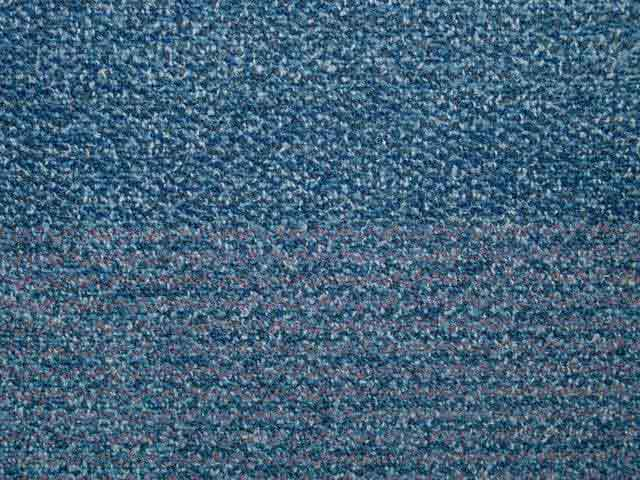 Stepping Stones Carpet Tiles - Recycled C Grade - Blue - 50cm x 50cm