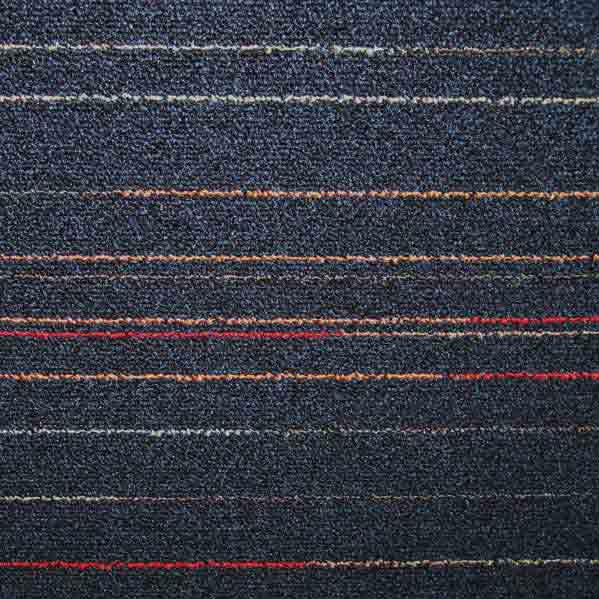 Modulyss First Lines Carpet Tiles - Navy 546 - 50 x 50cm
